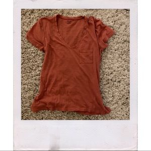 MADEWELL v neck t shirt